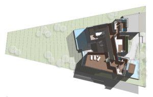 Hillside California Residence - 1st floor