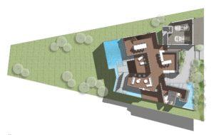 Hillside California Residence - Ground floor